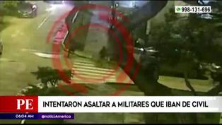 Jesús María: militar vestido de civil fue herido de bala tras frustrar asalto
