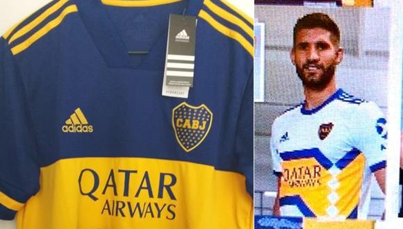 La imagen de la que sería la nueva camiseta alterna de Boca Juniors. (Foto: Twitter)