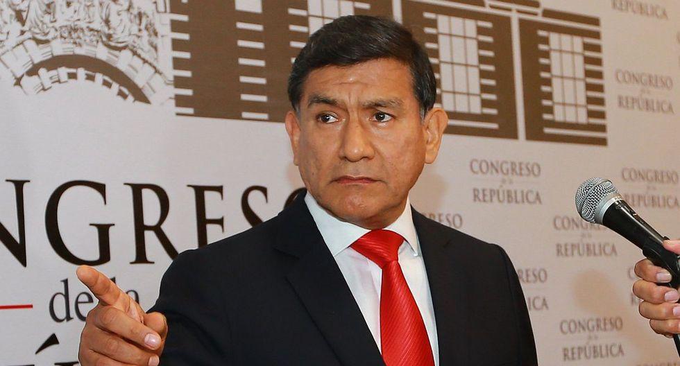 El ministro del Interior, Carlos Morán, aseguró que recién han conocido sobre el pedido de videovigilancia tras las declaraciones de Pablo Sánchez sobre César Hinostroza. (Foto: GEC)