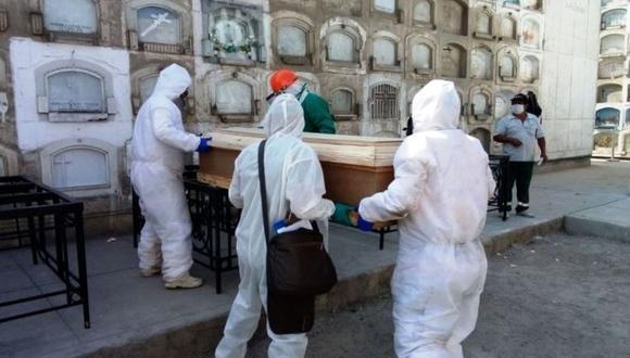 Al 13 de abril los muertos por el COVID-19 suman 55 mil 812, según cifras del Ministerio de Salud (Minsa). (Foto: GEC)