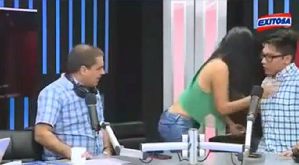 Gonzalo Núñez entrevistó a las integrantes de la agrupación femenina Alma Bella. (Exitosa)