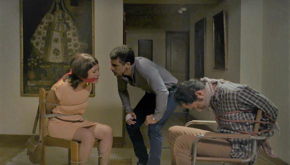 Magaly Solier estará en la película 'Vivir ilesos', un thriller de suspenso psicológico en el que la mujer es el objeto de sumisión y deseo. (Captura de video)