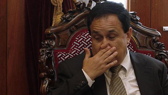 El presidente del Congreso dijo que el presidente Regional entendió mal el cargo. (USI)
