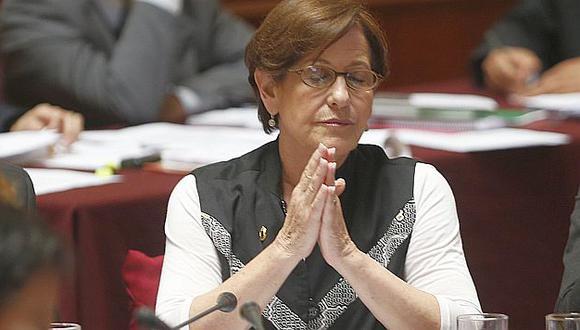 Susana Villarán no convenció en el Congreso cuando trató de justificar préstamo a la Caja de Lima. (USI)