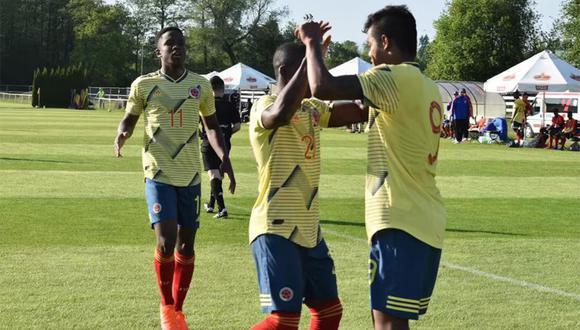 Colombia debuta en el Mundial Sub 20 enfrentando al anfitrión Polonia. (Foto: Selección Colombia)