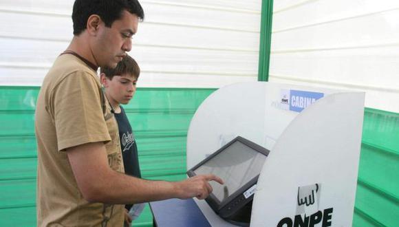 Sistema es más rápido y genera mayor confianza en los votantes. (USI)