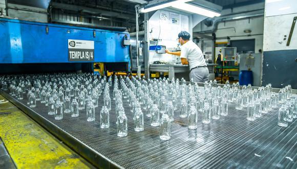 En el año 2018 circularon 633 mil toneladas de envases de vidrio, cerca de la mitad de estos son envases retornables. (Foto Asociación Recíclame)