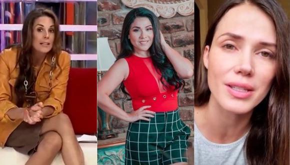 """Rebeca Escribens sobre Tula Rodríguez y Maju Mantilla: """"Están estables y evolucionando bien"""". (Foto: @dona_rebe/@tulaperu/@majumantilla)"""