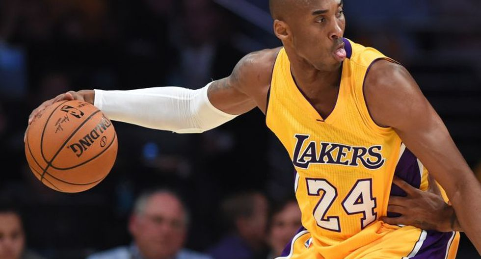 El quinto lugar del listado es para Kobe Bryant, de Los Angeles Lakers. (AFP)