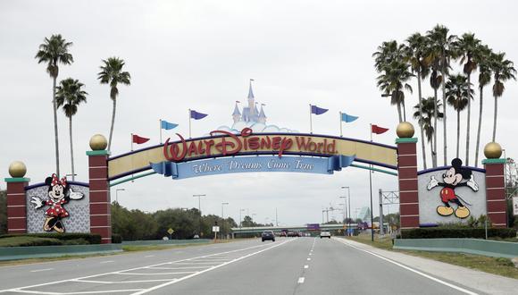 Arrestan a un hombre que acampó dentro de Disney World durante la cuarentena por el coronavirus. (AP Photo/John Raoux, File).