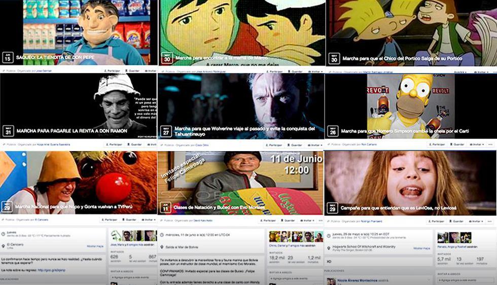 Una original y graciosa fiebre viene invadiendo Facebook. Y tú, ¿ya aseguraste tu participación en alguno de ellos? (Facebook)