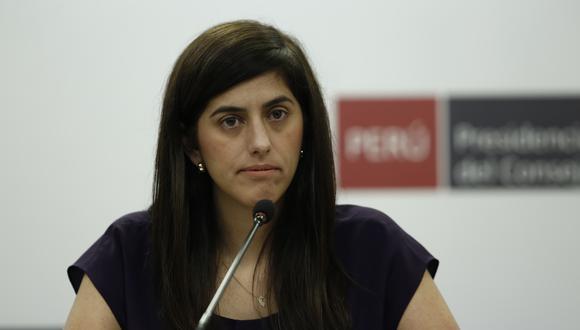 María Antonieta Alva se pronunció tras el rechazo de la lista para la Mesa Directiva del Congreso. (Foto: Grupo El Comercio)