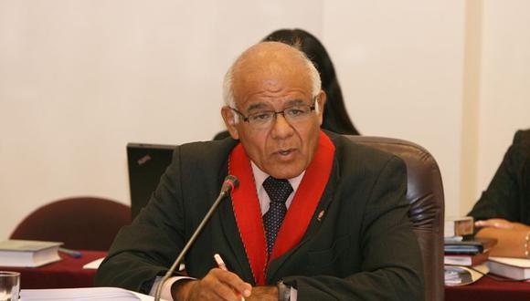 """El fiscal antiterrorismo Luis Landa pidió informe a José Pérez con carácter de """"muy urgente""""."""