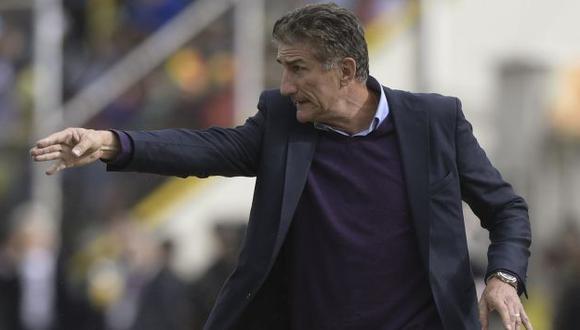 """Edgardo Bauza acusó de """"sindicalista que no sabe de fútbol"""" al presidente de la AFA. (AFP)"""