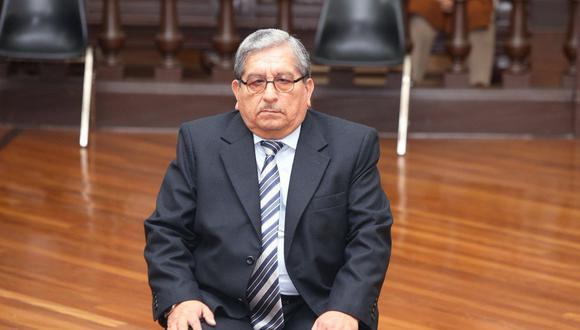 A Julio Gutiérrez Pebe se le imputa estar vinculado a la presunta red criminal Los Cuellos Blancos del Puerto. (Foto: Poder Judicial)