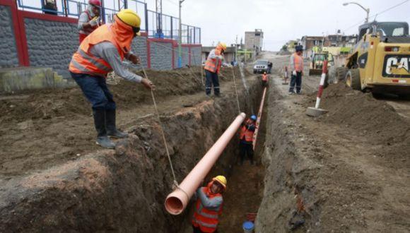 Ejecución del presupuesto de saneamiento del gobierno central llega solo a 22.5%. (Foto: Andina)