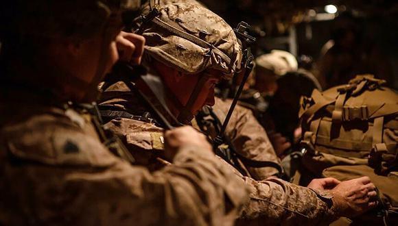 Los dos soldados, uno estadounidense y otro británico, y el subcontratista murieron en la base iraquí de Taji, en el norte de Bagdad, informó un oficial de Estados Unidos. (AFP).