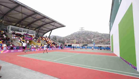 La delegación peruana sigue avanzando firme por una medalla en Frontó. (Foto: Giancarlo Ávila / GEC)