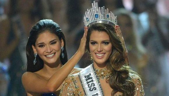 La Miss Francia Iris Mittenaere, obutvo la corona del Miss Universo 2017. (Créditos: AFP)