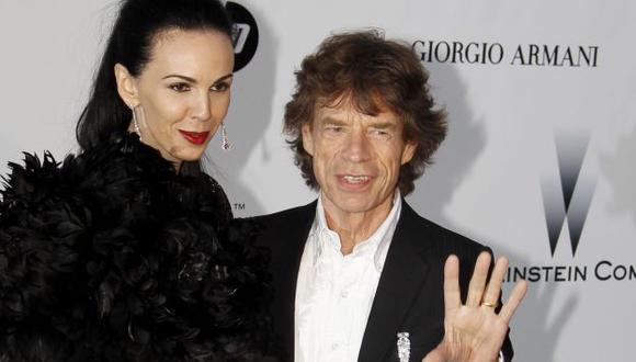 Mick Jagger se pronuncia sobre la muerte de su novia . (EFE)