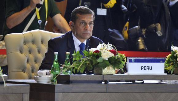 Ollanta Humala reveló en Tailandia su proyecto de nuevo ministerio. (Andina)