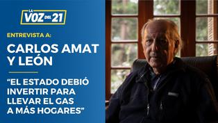 """Carlos Amat y León: """"El Estado debió invertir para llevar el gas a más hogares"""""""