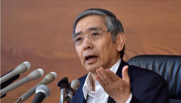 Haruhiko Kuroda. (AFP)