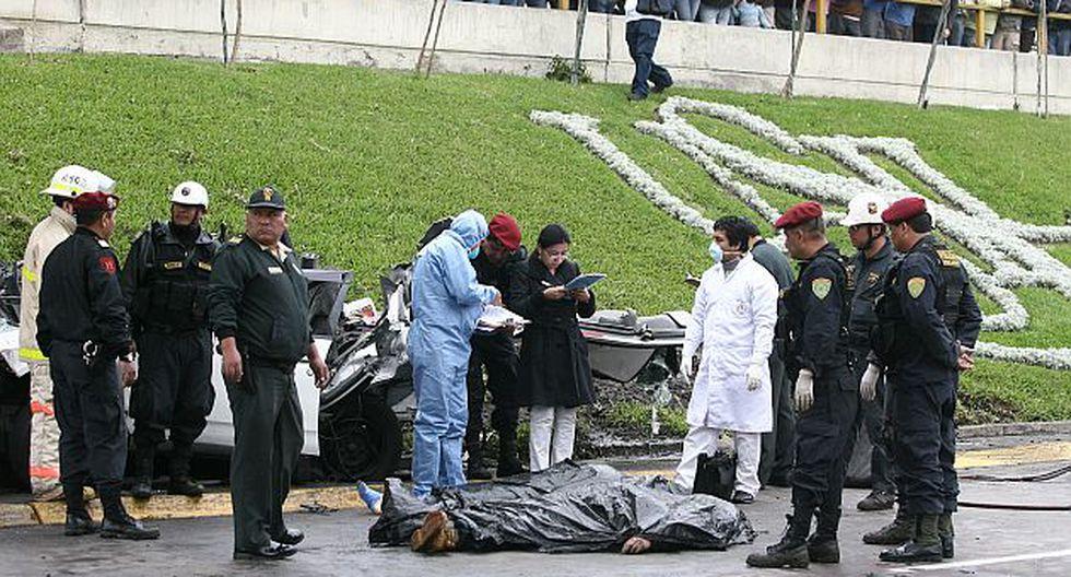 En Lima, de enero a julio de 2011 se han registrado 736 accidentes de tránsito. (Peru21)