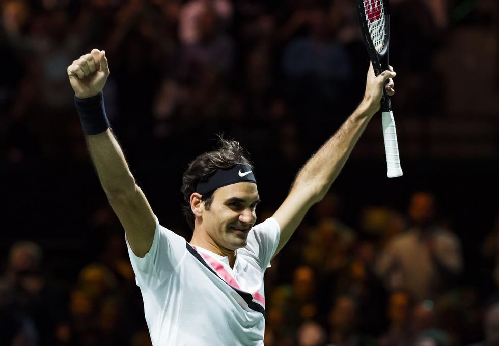Federer, ganador de 20 títulos de Grand Slam, será el nuevo primer puesto mundial a partir del próximo lunes. ()