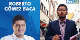 Roberto Gómez Baca, candidato a la Alcaldía de Lima de Vamos Perú