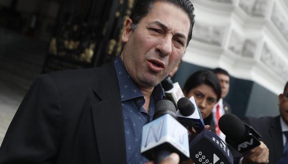 Salvador Heresi ha cuestionado en varias ocasiones el cierre del Parlamento. (César Campos/GEC)