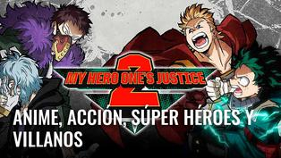 Jugamos My hero One's Justice 2