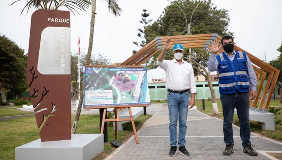 Remodelaron el parque Santa Emma para beneficio de más de 2 mil vecinos del Cercado de Lima (Foto: MML)