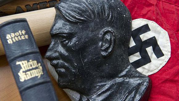 Libro de Hitler ha encendido el debate en Alemania. (AP)