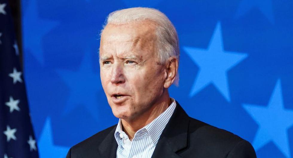 Imagen del candidato presidencial demócrata, Joe Biden. (REUTERS/Kevin Lamarque).