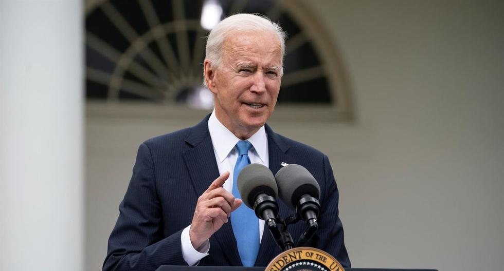 El presidente de Estados Unidos Joe Biden. (EFE/EPA/TASOS KATOPODIS).