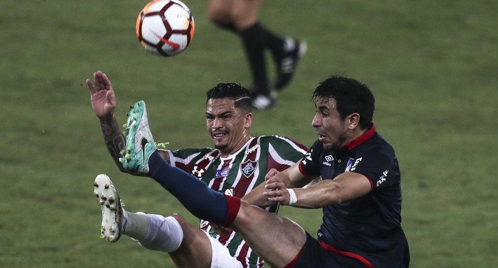 Fluminense igualó 1-1 ante Nacional por los cuartos de final de la Sudamericana. (EFE)