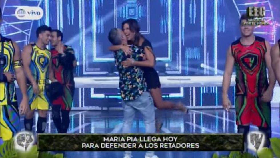 Esto es Guerra: María Pía Copello reemplaza a Gian Piero Díaz en el programa (Foto: Captura de pantalla)