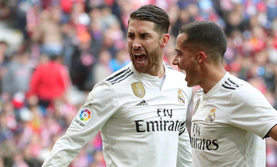 Sergio Ramos fue suspendido en el choque de ida contra Ajax. (Foto: EFE)