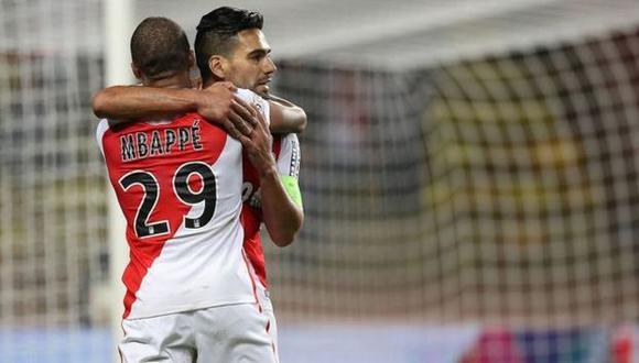 Kylian Mbappé y Radamel Falcao liderarán el ataque del Mónaco en su visita al Dortmund por la Champions League. (Getty images)