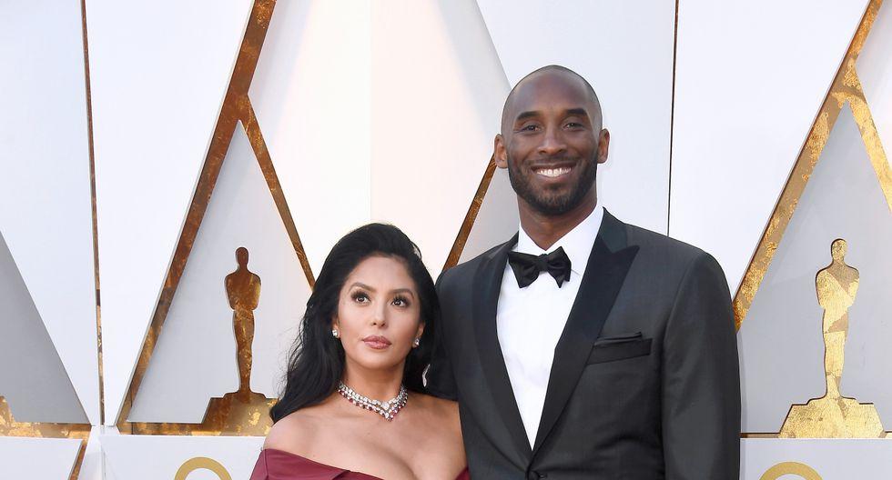 Vanessa Laine y Kobe Bryant (AFP)