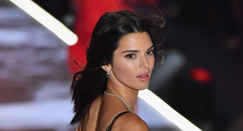 La foto subida por Kendall Jenner a Instagram Stories causó mucho revuelo. (AFP)