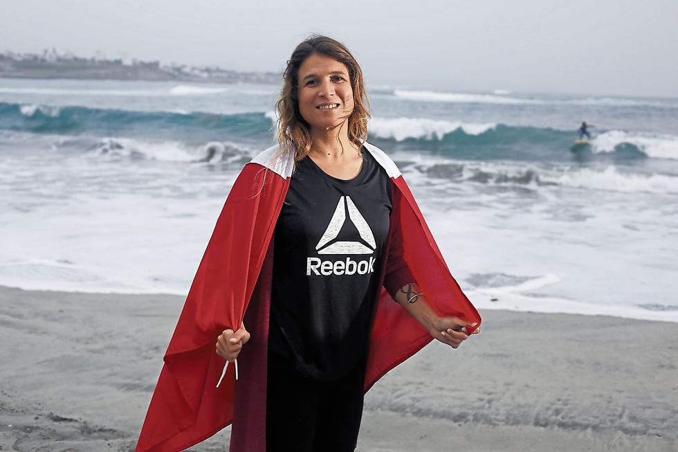 Sofía Mulanovich fue campeona del mundo en 2004. (César Campos)