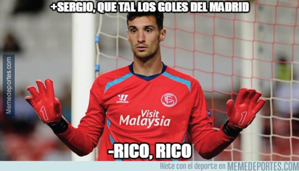 Divertidos memes de la aplastante victoria del Real Madrid contra Sevilla. (Facebook)