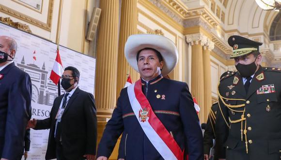 Jorge Spelucín indicó que los anuncios en el mensaje a la Nación fueron parte de un consenso. (Foto Andina)