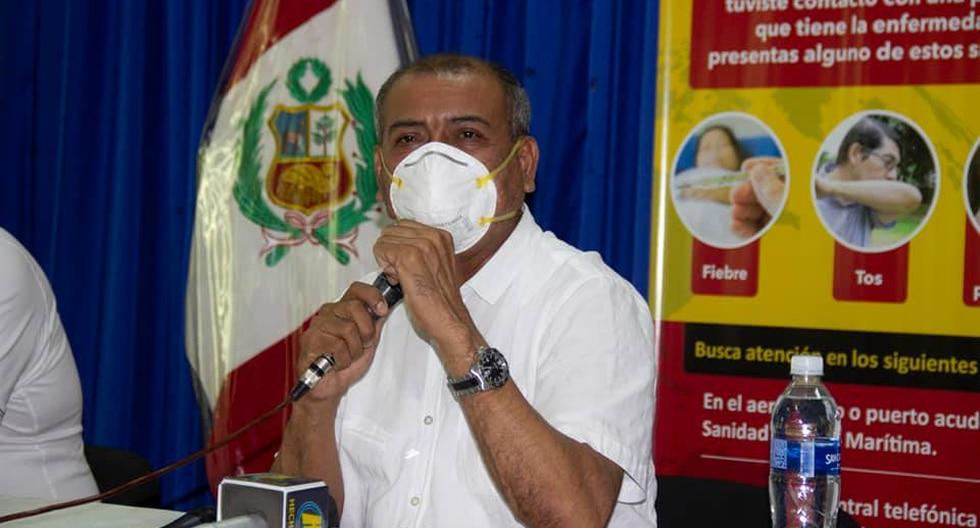 El gobernador de Tumbes, Wilmer Dios, está de acuerdo con la ampliación del toque de queda en la región. (Foto: Gobierno Regional de Tumbes)