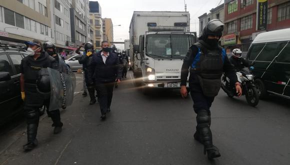 La intervención en esta vía se efectuó desde el cruce de la Av. Venezuela con la Av. Alfonso Ugarte hasta el jirón Aguarico. (Foto:Municipalidad de Lima)