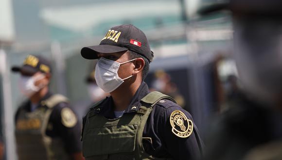 Investigan a jefe policial por la presunta compra irregular de mascarillas. (Foto: Diana Marcelo / GEC)