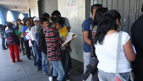 Las expectativas de contratación, a tres meses, siguen en negativo, pero se ha visto una mejora. (Perú21)