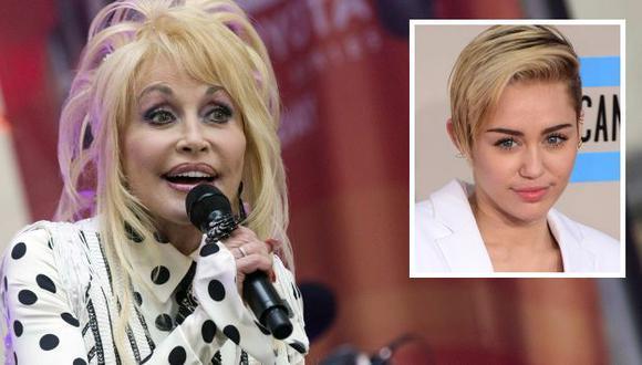 Dolly Parton habló sobre Miley Cyrus. (Reuters)